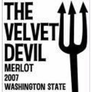 Charles Smith Charles Smith Velvet Devil Merlot 2015   Washington