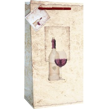 Bella Vita Old World Two Bottle Wine Bag