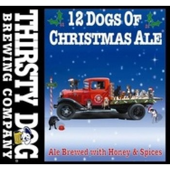 Thirsty Dog Brewing Company 12 Dogs of Christmas Ale  6PK