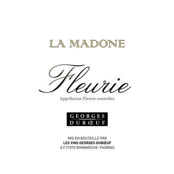Duboeuf George Duboeuf FleurieLa Madone 2015<br />Beaujolais, France<br /> 93pts-JS