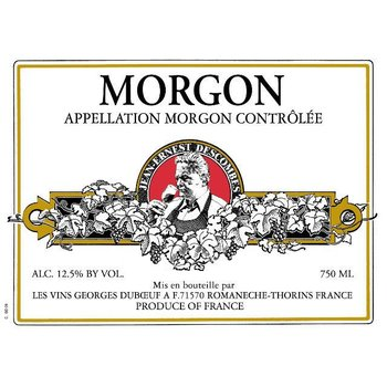 Duboeuf George Duboeuf Morgon Jean Descombes 2015<br />