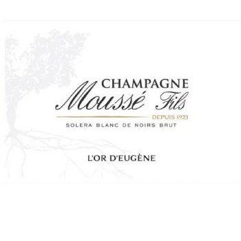 Moussé Fils L'Or D'Eugene Blanc de Noirs Brut <br /> Champagne, France