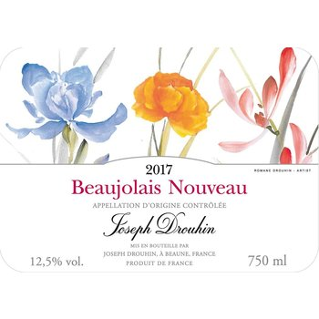 Drouhin Joseph Drouhin Beaujolais Nouveau 2017<br />Beaujolais, France