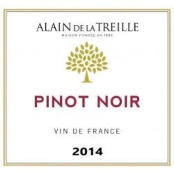 Alain De La Treille Pinot Noir 2014 Vine de France