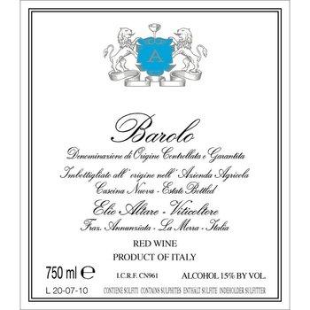 Elio Perrone Elio Altare Barolo 2011<br /> Piedmont, Italy<br /> 95pts-JS, 93pts-WA, 91pts-WS