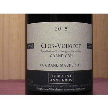 Domaine Anne Gros Clos-Vougeot Grand Cru Le Grand Maupertui 2015<br /> Burgubdy, France<br /> 95pts-RP, 95pts-V