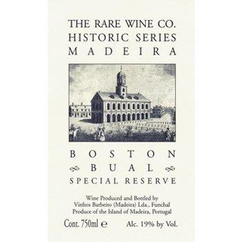Rare Wine Co The Rare Wine Company Historic Series Madeira Boston Bual Special Reserve <br />Portugal<br />92pts-JR