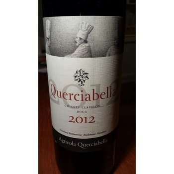 Agricloa Querciabella Agricola Querciabella Chianti Classico 2012<br /> Tuscany, Italy  91pts-WE