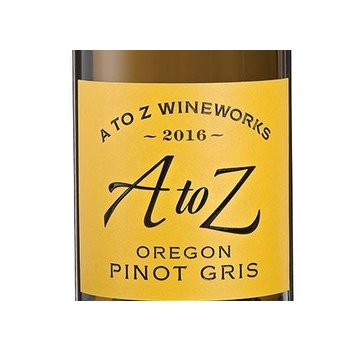 A to Z A to Z Pinot Gris 2016<br />
