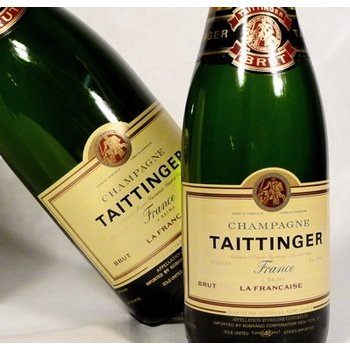 Taittinger Brut La Francaise NV-Champagne, France  WS-91pts.