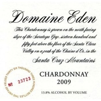 Dm Eden Domaine Eden Chardonnay 2013<br />Santa Cruz, California