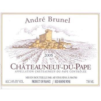 Dm Andre Brunel Andre Brunel Chateauneuf-du-Pape 2015 <br /> Rhone, France
