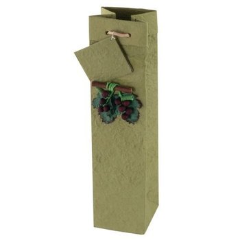 True Fabrications Lush One Bottle Wine Bag
