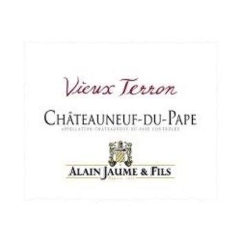 Alain Jaume Alain Jaume Chateauneuf-du-Pape Vieux Terron 2016<br /> Rhone, France