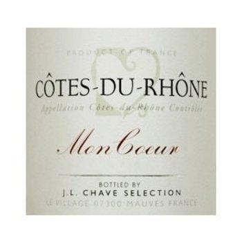 Chave J.L. Chave Mon Coeur Cote-Du-Rhone 2015<br />Rhone, France