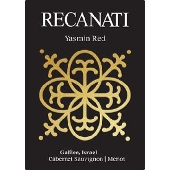 Recanati Recanati Yasmin Red Cabernet Sauvignon/ Merlot Blend 2015 Galilee, Israel