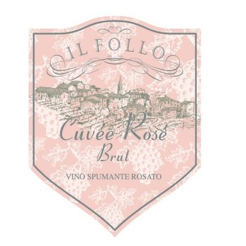 Il Follo Il Follo Sparkling Cuvee Rose Brut NV<br />