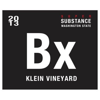 Charles Smith Charles Smith Wines of Substance Super Substance Klein Bx Blend 2013<br /> Walla Walla Valley, Columbia Valley, Washington<br /> 98pts-WA