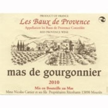 Mas de Gourgonnier Les Baux de-Provence Rouge 2016  ORGANIC-Provence, France