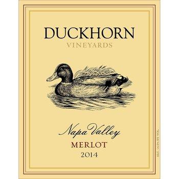 Duckhorn Duckhorn Vineyards Merlot 2014<br />Napa Valley, Califonria<br /> 92pts-WS