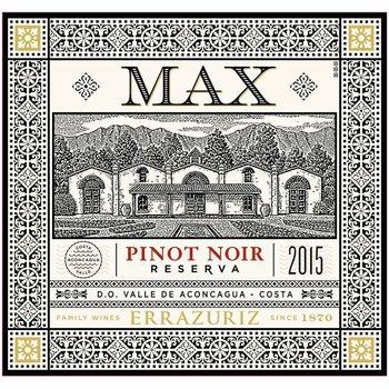Errazuriz Errazuriz Max Reserva Pinot Noir 2015<br /> Chile<br /> 91pts-JS