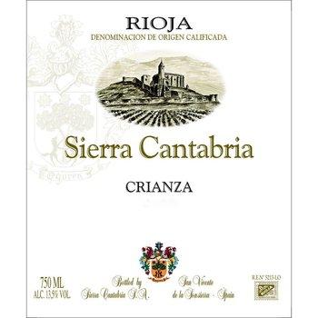 Sierra Cantabria Sierra Cantabria Crianza Rioja 2013 <br />Rioja, Spain<br /> 90pts-WS