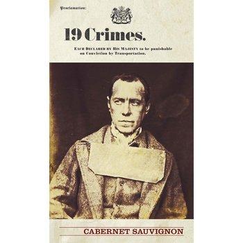 Ninteen Crime Cabernet Sauvignon 2017<br /> Australia