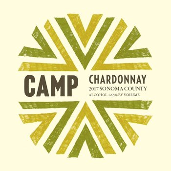 Camp Wines Chardonnay 2016<br /> Sonoma, California