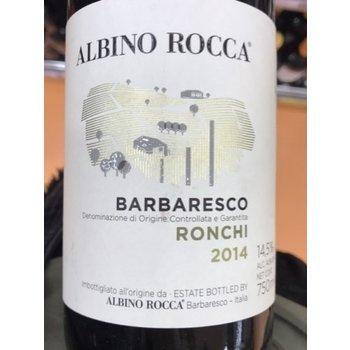 Albino Rocca Barbaresco Vigneto Brich Ronchi 2014<br /> Piedmont, Italy