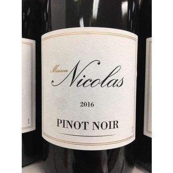 Maison Nicolas Maison Nicolas Pinot Noir 2016<br /> Languedoc, France