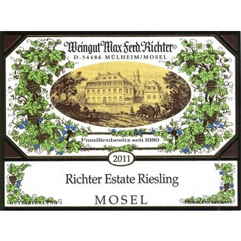 Richter Weingut Max Ferd. Richter Estate Riesling 2016  <br /> Mosel, Germany