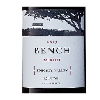 Bench Bench Knights Valley Merlot 2015 Sonoma, California