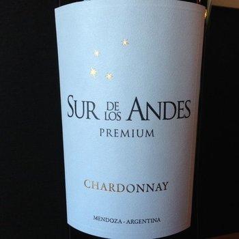 Sur De Los Andes Premium Chardonnay 2015 <br /> Mendoza, Argentina