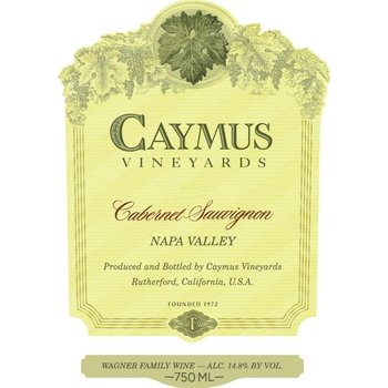 Caymus Caymus Napa Valley Cabernet Sauvignon 2016  1 Liter<br />Napa, California