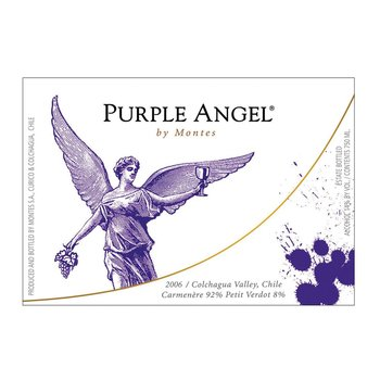 Montes Montes Purple Angel 2015<br />Chile  <br /> 93pts-WS