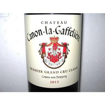 Ch Canon-la-Gaffeliere Premier Grand Cru Classe 2015<br /> St. Emilion, Bordeaux, France<br /> 97pts-V &amp; WA, 96pts-JS &amp; WS, 94pts-WE