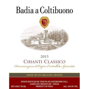 Badia Coltibuono Badia a Coltibuono Chianti Classico 2016<br /> Tuscany, Italy-Organic<br /> 92pts-WE