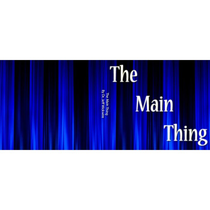 01(H018) - The Main Thing