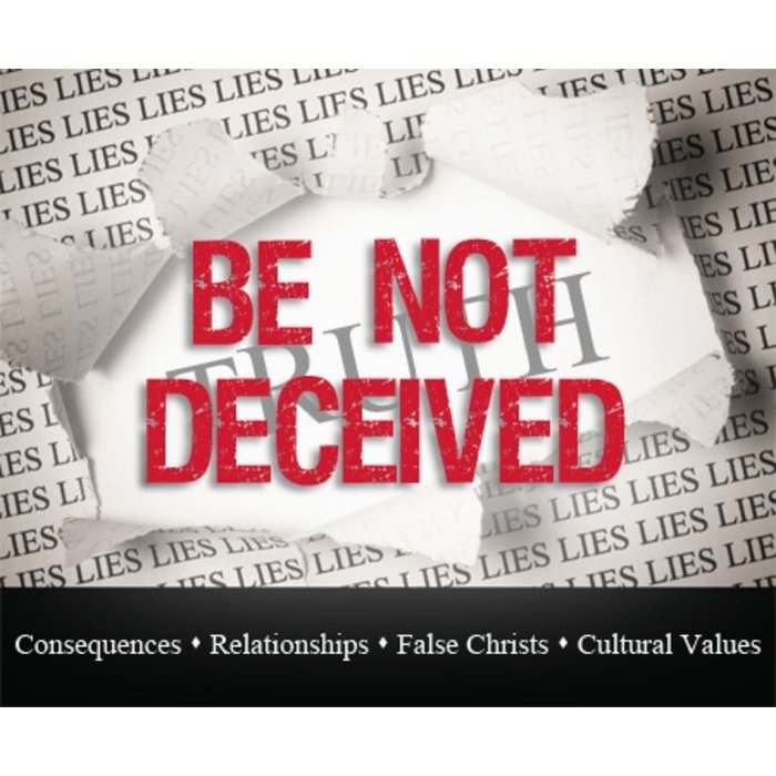 03(D036) - Be Not Deceived By Cultural Values