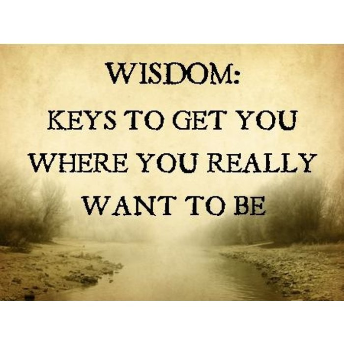 10(J001-J010) - Wisdom-Keys To Get You Where You