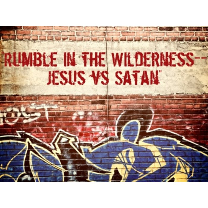 03(C021-C023) - Rumble In The Wilderness - Jesus Vs Satan