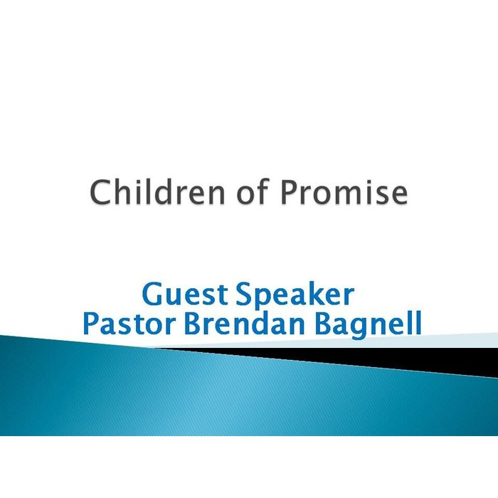 00(NONE) - Children Of Promise By Brendan Bagnell