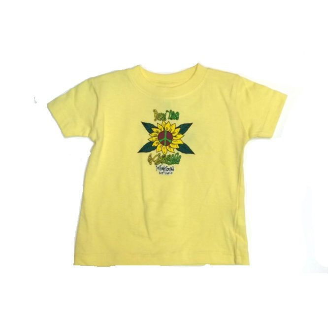 Logo PEACE LOVE & GROOVINESS TODDLER SHORT SLEEVE TEE