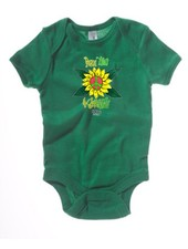 Logo PEACE LOVE & GROOVINESS BABY BODYSUIT