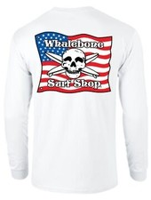 Logo KIDS AMERICAN FLAG LONG SLEEVE TEE