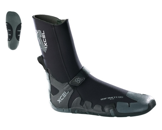 Wetsuits XCEL INFINITI 5MM ROUND TOE WETSUIT BOOT