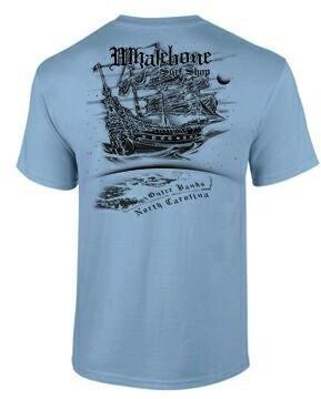 Whalebone Logo MENS AIRSHIP PREMIUM SHORT SLEEVE TEE
