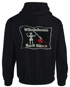 Whalebone Logo BLACKBEARD ZIP HOODED SWEATSHIRT