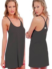 Logo WOMENS WHALEBONE FLARED T-BACK DRESS