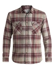 Mens Sportswear QUIKSILVER MENS HAPPY LONGLSEEVE FLANNEL SHIRT
